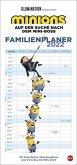 Minions Familienplaner Kalender 2022