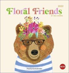 Floral Friends Postkartenkalender 2022 - Charro, Mia