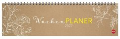 Chalk Drawing Wochenquerplaner Kalender 2022