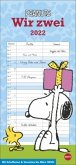 Peanuts Planer für zwei - Kalender 2022