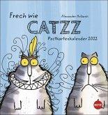 Catzz Postkartenkalender - Kalender 2022