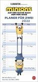 Minions Planer für zwei - Kalender 2022