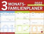 3-Monats Familienplaner 2022