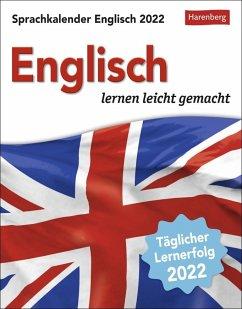 Sprachkalender Englisch 2022 - Gallagher, Jennifer;Butz, Steffen