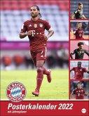 FC Bayern München Posterkalender 2022