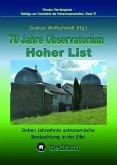 70 Jahre Observatorium Hoher List - Sieben Jahrzehnte astronomische Beobachtung in der Eifel. (eBook, ePUB)