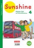 Sunshine - Zu allen Ausgaben (Neubearbeitung) - 4. Schuljahr Poster-Set mit Bookii-Funktion und Beilage - 3 verschiedene