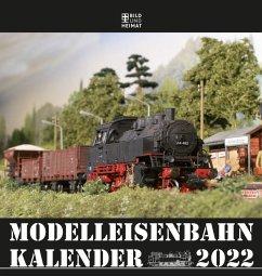Modelleisenbahnkalender 2022 - Scholz, Helge