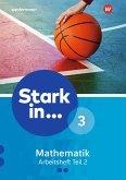 Stark in Mathematik 3. Arbeitsheft. Teil 2. (Lernstufe 10)
