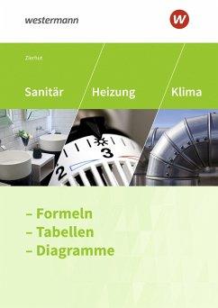 Sanitär-, Heizungs- und Klimatechnik. Formelsammlung - Zierhut, Herbert
