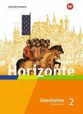 Horizonte - Geschichte 2. Schülerband. Mittelalter bis Absolutismus und Aufklärung. Für Gymnasien in Hessen und im Saarland