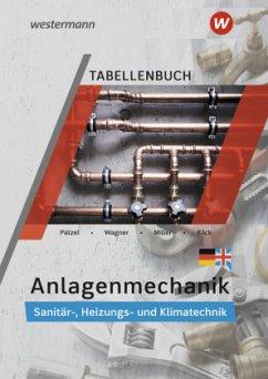 Anlagenmechanik für Sanitär-, Heizungs- und Klimatechnik. Tabellenbuch - Miller, Wolfgang;Bäck, Hans-Joachim;Wagner, Helmut