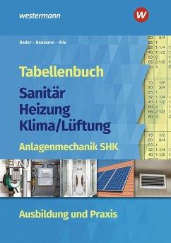 Tabellenbuch Sanitär-Heizung-Klima/Lüftung - Bader, Rolf;Ihle, Claus;Baumann, Ingolf