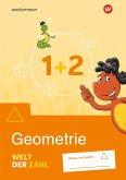Welt der Zahl 1 / 2. Arbeitsheft. Geometrie. Allgemeine Ausgabe