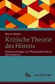 Kritische Theorie des Hörens (eBook, PDF)
