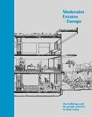 Modernist Estates - Europe (eBook, ePUB)