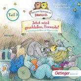 Jetzt wird geschlafen, Freunde! Gutenachtgeschichten mit Tiger und Bär. Teil 3 (MP3-Download)