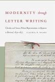 Modernity through Letter Writing (eBook, ePUB)