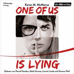 ONE OF US IS LYING / ONE OF US Bd.1 (MP3-Download) - McManus, Karen M.