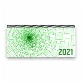 Tischkalender 2021 XL - 1 Woche - 2 Seiten