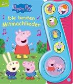 Peppa Pig - Die besten Mitmachlieder - Liederbuch mit Sound - Pappbilderbuch mit 6 Melodien