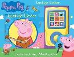 Peppa Pig - Lustige Lieder - Liederbuch und Musikspieler - Pappbilderbuch mit 15 beliebten Kinderliedern