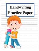 Handwriting Practice Paper: Handwriting Paper Notebook with Dotted Lined for Kids to Learn the ABC - Big Dotted Lined Writing Paper for Kids, Cove