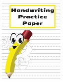 Handwriting Practice Paper: Jumbo Handwriting Paper Notebook with Dotted Lined for Kids to Learn the ABC and Practice Their Writing Skills - Big D
