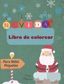 Navidad Libro de Colorear Para Niños Pequeños