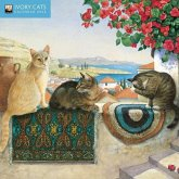 Ivory Cats Mini Wall Calendar 2022 (Art Calendar)