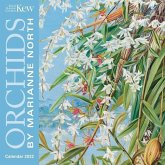 Kew Gardens: Orchids by Marianne North Mini Wall Calendar 2022 (Art Calendar)