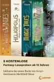 5 kostenlose Fantasy-Leseproben ab 12 Jahren (eBook, ePUB)