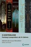 5 kostenlose Fantasy-Leseproben ab 14 Jahren (eBook, ePUB)