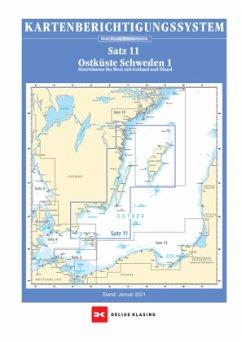 Berichtigung Sportbootkarten Satz 11: Ostküste Schweden 1 (Ausgabe 2021) - Team Technology Engineering+ Marketing GmbH Dr. Dirk Blume