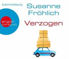 Verzogen, 4 Audio-CDs (Restauflage) - Fröhlich, Susanne