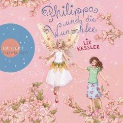 Philippa und die Wunschfee / Philippa Bd.1 (3 Audio-CDs) (Restauflage) - Kessler, Liz