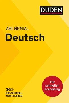 Abi genial Deutsch: Das Schnell-Merk-System (eBook, PDF) - Bornemann, Monika; Bornemann, Michael; Schlitt, Christine