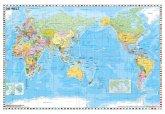 Weltkarte pazifikständisch politisch