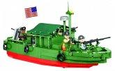 COBI 2238 - Historical Collection, Patrol Boat River MK II, VIETNAM WAR, 615 Bauteile 4 Figuren