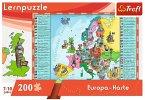 Europa-Karte (Kinderpuzzle)