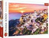 Sonnenuntergang über Santorini (Puzzle)
