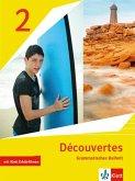 Découvertes 2. Grammatisches Beiheft mit Klett Erklärfilmen 2. Lernjahr. Ausgabe 1. oder 2. Fremdsprache