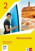 Découvertes 2. Ausgabe 1. oder 2. Fremdsprache. Cahier d'activités mit Mediensammlung 2. Lernjahr