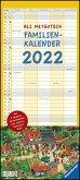 Ali Mitgutsch Familienkalender 2022 - Wandkalender - Familienplaner mit 5 Spalten