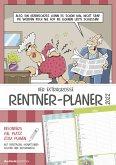 Der extragroße Rentner-Planer 2022 - Wandplaner A3