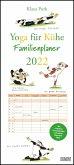Yoga für Kühe Familienplaner 2022 - Wandkalender - Familien-Kalender mit 6 Spalten - Format 22 x 49,5 cm