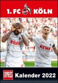 1. FC Köln 2022 - Fußball-Kalender - Express-Fankalender - Wandkalender 29,7 x 42 cm