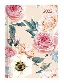 Mini-Buchkalender Style Roses 2022 - Taschen-Kalender A6