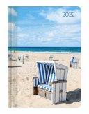 Ladytimer Beach 2022 - Strand - Taschenkalender A6 (11x15 cm)