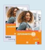 Estudiantes.ELE B1 - Kurs- und Übungsbuch mit Audios/Videos inklusive Lizenzcode für das Kurs- und Übungsbuch mit interaktiven Übungen